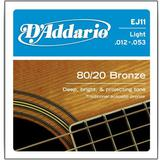 DADDARIO Senar Gitar Bronze Acoustic Guitar Strings [EJ-11]